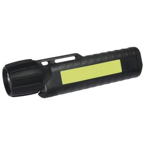 UK Helmlampe 4AA eLED CPO, ES Frontschalter, schwarz,...