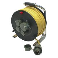 Leitungsroller Feuerwehr 230 V/400 V, 16 A DIN 14680, 50 m