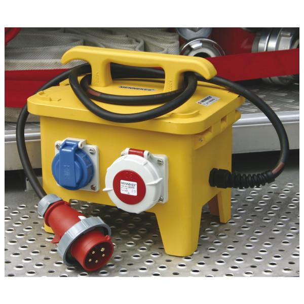 Mennekes Vierfachverteiler Feuerwehr-Version 230 V/400 V, 16 A